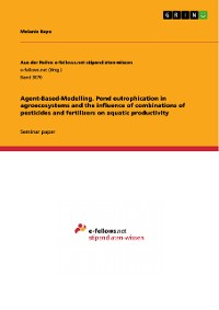 Cover Agend-Based-Modelling. Pond eutrophication in agroecosystems and the influence of combinations of pesticides and fertilizers on aquatic productivity