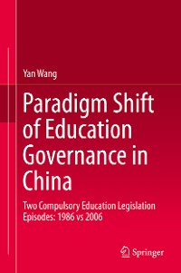 Cover Paradigm Shift of Education Governance in China