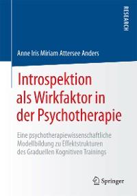 Cover Introspektion als Wirkfaktor in der Psychotherapie