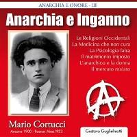 Cover Anarchia e inganno - Mario Cortucci