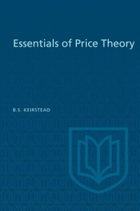Cover Essentials of Price Theory