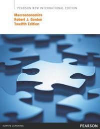 Cover Macroeconomics: Pearson New International Edition PDF eBook