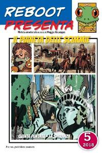 Cover Reboot presenta: il pianeta delle scimmie 5