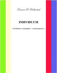 Cover INDIVIDUUM