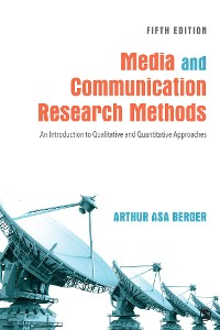 Cover Media and Communication Research Methods