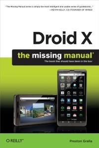 Cover Droid X: The Missing Manual