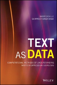 Cover Text as Data