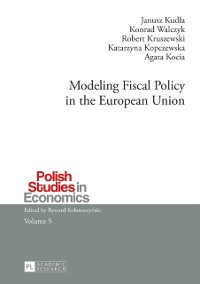 Cover Modeling Fiscal Policy in the European Union