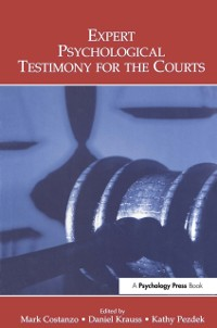 Cover Expert Psychological Testimony for the Courts