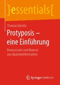Cover Protyposis – eine Einführung