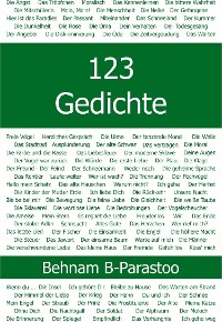 Cover 123 Gedichte