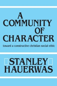 Cover Community of Character