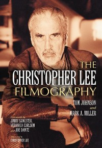 Cover Christopher Lee Filmography
