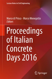 Cover Proceedings of Italian Concrete Days 2016