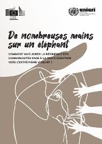 Cover De nombreuses mains sur un éléphant
