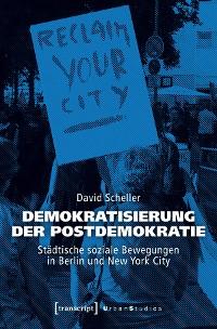Cover Demokratisierung der Postdemokratie