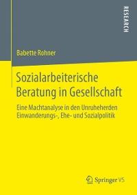 Cover Sozialarbeiterische Beratung in Gesellschaft