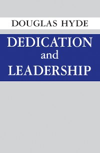 Cover Dedication and Leadership
