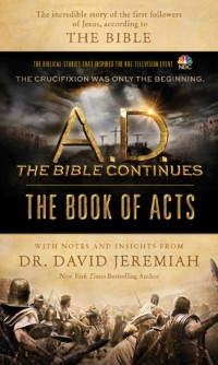 Cover A.D. The Bible Continues: The Book of Acts