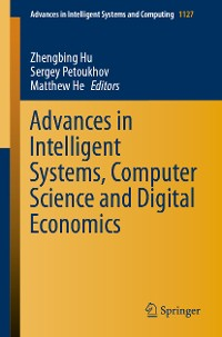 Cover Advances in Intelligent Systems, Computer Science and Digital Economics