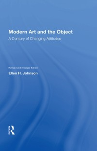 Cover Modern Art And The Object