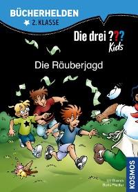 Cover Die drei ??? Kids, Bücherhelden, Die Räuberjagd (drei Fragezeichen Kids)