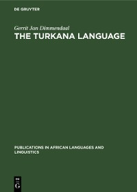 Cover The Turkana Language