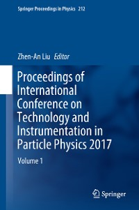 Cover Proceedings of International Conference on Technology and Instrumentation in Particle Physics 2017