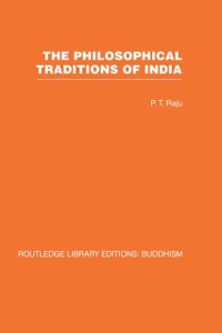 Cover Philosophical Traditions of India