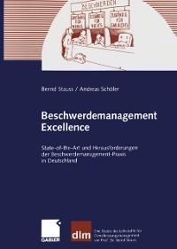 Cover Beschwerdemanagement Excellence