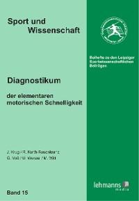 Cover Diagnostikum der elementaren motorischen Schnelligkeit