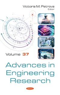 Cover Advances in Engineering Research. Volume 37