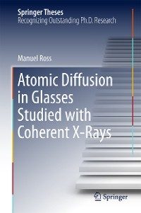 Cover Atomic Diffusion in Glasses Studied with Coherent X-Rays