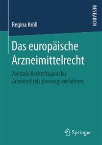 Cover Das europäische Arzneimittelrecht