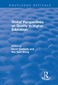 Cover Global Perspectives on Quality in Higher Education