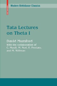 Cover Tata Lectures on Theta I