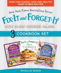 Cover Fix-It and Forget-It New Slow Cooker Magic Box Set