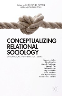 Cover Conceptualizing Relational Sociology