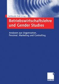 Cover Betriebswirtschaftslehre und Gender Studies