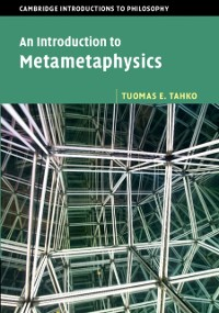 Cover Introduction to Metametaphysics