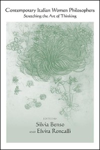 Cover Contemporary Italian Women Philosophers