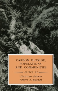 Cover Carbon Dioxide, Populations, and Communities