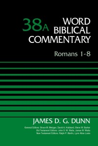 Cover Romans 1-8, Volume 38A