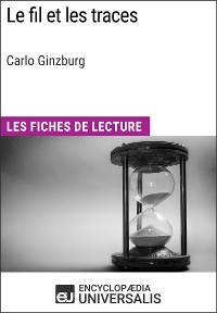 Cover Le Fil et les traces de Carlo Ginzburg