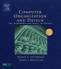 Cover Computer Organization and Design