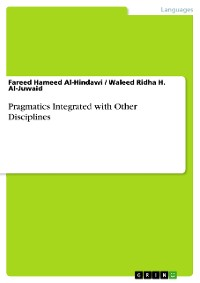 Cover Pragmatics Integrated with Other Disciplines