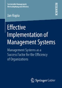 Cover Effective Implementation of Management Systems
