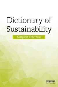 Cover Dictionary of Sustainability