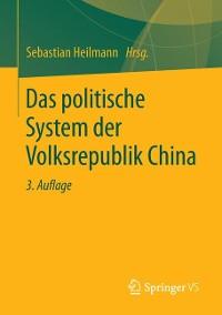 Cover Das politische System der Volksrepublik China