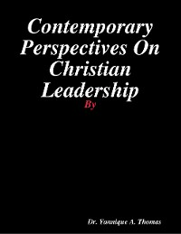 Cover Contemporary Perspectives On Christian Leadership
